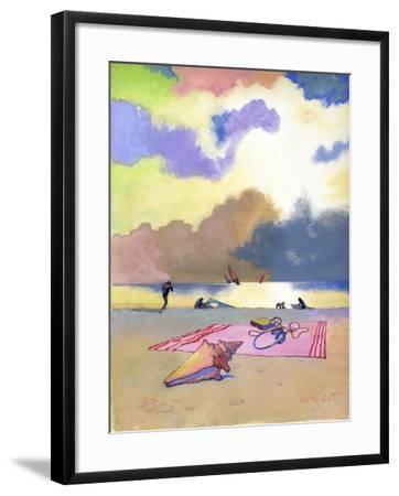 Summer Evening, 1980s-George Adamson-Framed Giclee Print