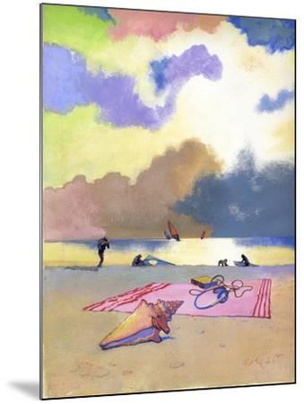 Summer Evening, 1980s-George Adamson-Mounted Giclee Print