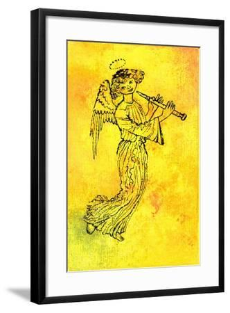 The Golden Angel, 1970s-George Adamson-Framed Giclee Print