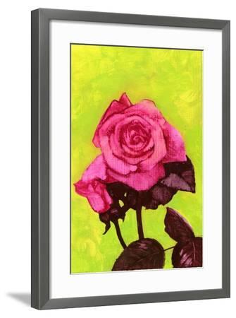 Bright Rose, 1980s-George Adamson-Framed Giclee Print
