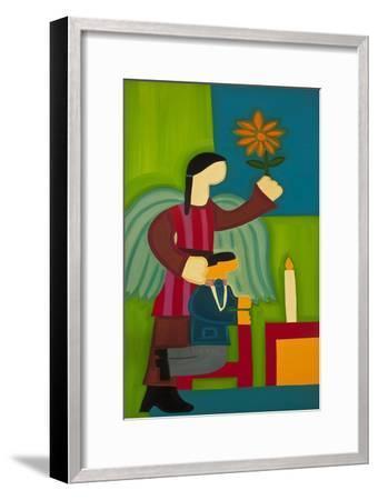 Jose Maria Y Su Angel, 2009-Cristina Rodriguez-Framed Giclee Print
