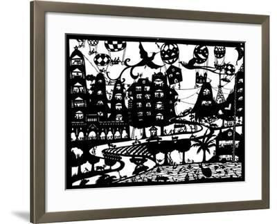 In Motion, 2009-Beatrice Coron-Framed Giclee Print