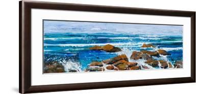 Coastal Encounter-Margaret Coxall-Framed Giclee Print