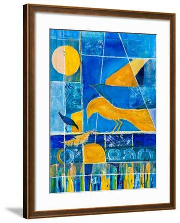 Blue Horizons-Margaret Coxall-Framed Giclee Print