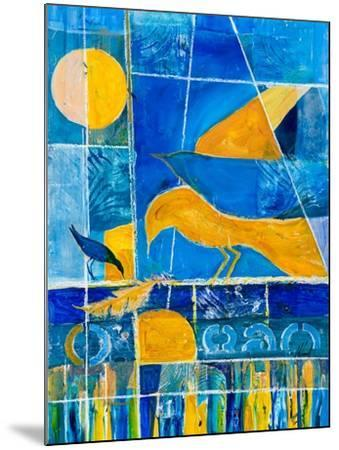Blue Horizons-Margaret Coxall-Mounted Giclee Print