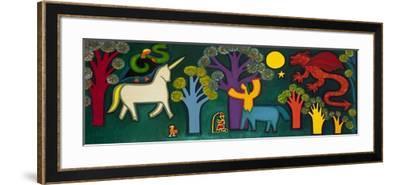 El Bosque Magico De Lucas, 2009-Cristina Rodriguez-Framed Giclee Print