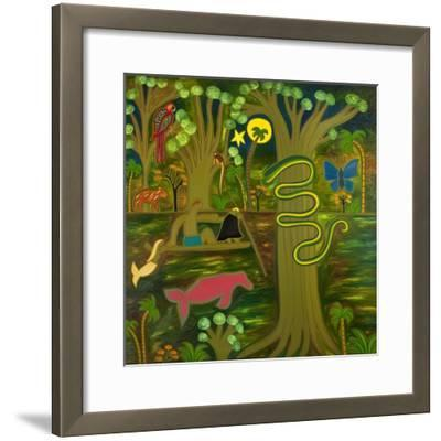 At the Heart of the Amazon, 2010-Cristina Rodriguez-Framed Giclee Print