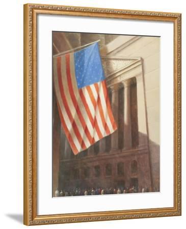 New York Stock Exchange, 2010-Lincoln Seligman-Framed Giclee Print