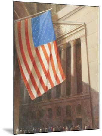 New York Stock Exchange, 2010-Lincoln Seligman-Mounted Giclee Print