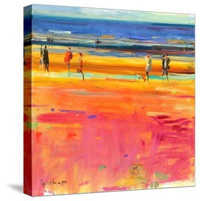 Boulevard De La Plage, 2011-Peter Graham-Stretched Canvas Print
