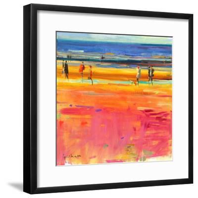 Boulevard De La Plage, 2011-Peter Graham-Framed Giclee Print