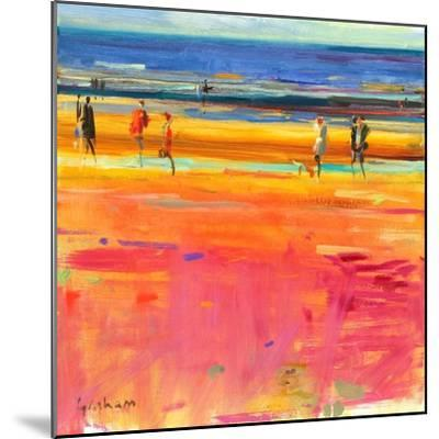 Boulevard De La Plage, 2011-Peter Graham-Mounted Giclee Print