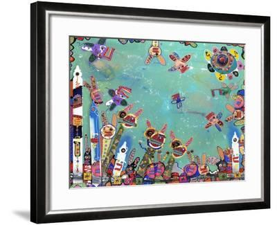 Picket This, 2009-Anthony Breslin-Framed Giclee Print