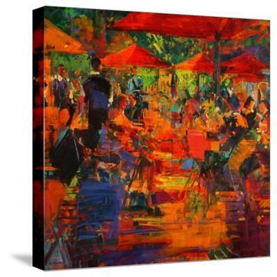 Le Grand Cafe, 2011-Peter Graham-Stretched Canvas Print