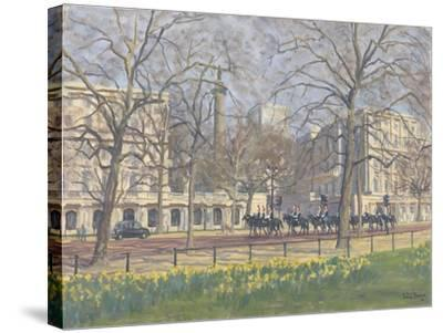 Spring Morning, the Mall, 2010-Julian Barrow-Stretched Canvas Print