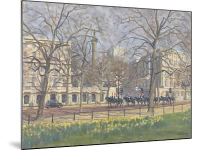 Spring Morning, the Mall, 2010-Julian Barrow-Mounted Giclee Print
