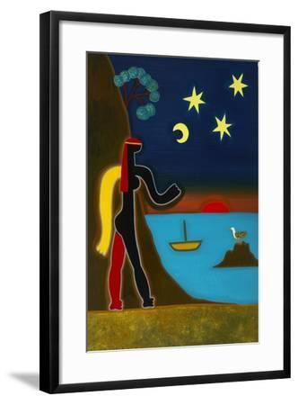 The Encounter with Isis, 2009-Cristina Rodriguez-Framed Giclee Print