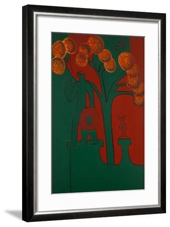 The Stone God and His Lion, 2010-Cristina Rodriguez-Framed Giclee Print