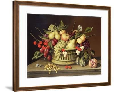 The Snail and the Pomegranate-Brian Irving-Framed Giclee Print