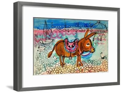 Donkey-Brenda Brin Booker-Framed Giclee Print