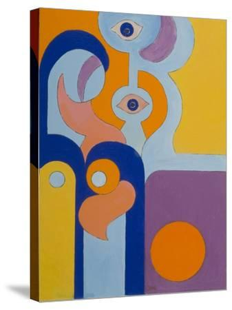 The Queen Gave Birth to a Healthy Baby-Boy, 2009-Jan Groneberg-Stretched Canvas Print