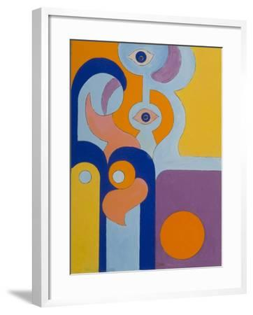 The Queen Gave Birth to a Healthy Baby-Boy, 2009-Jan Groneberg-Framed Giclee Print