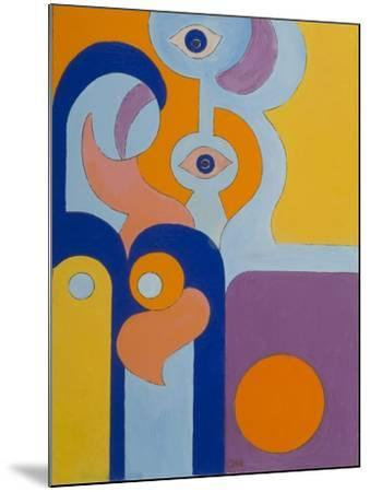 The Queen Gave Birth to a Healthy Baby-Boy, 2009-Jan Groneberg-Mounted Giclee Print