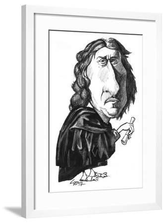 Poussin-Gary Brown-Framed Giclee Print