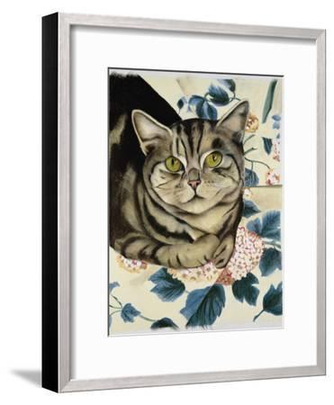 Tabby Cat-Anne Robinson-Framed Giclee Print