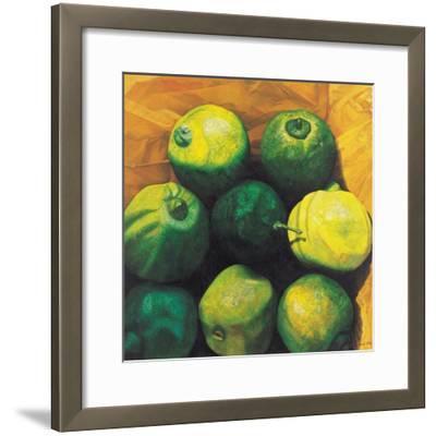 Limes, 2004-Pedro Diego Alvarado-Framed Giclee Print