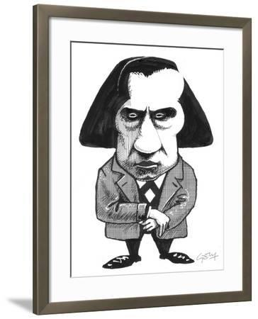 Chopin-Gary Brown-Framed Giclee Print