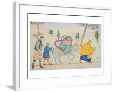 Flight V, 2005-Gillian Lawson-Framed Giclee Print