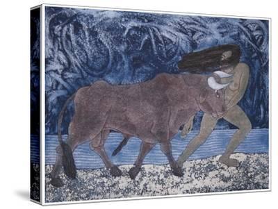 Magnetismo, 2000-Juan Alcazar-Stretched Canvas Print