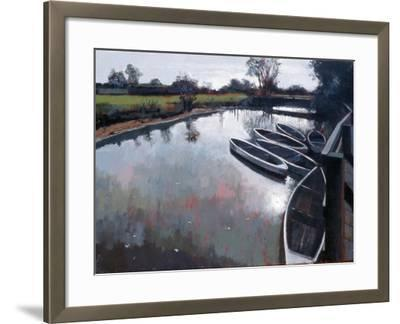 Barcombe Mills, Sussex, 2007-Peter Wilson-Framed Giclee Print