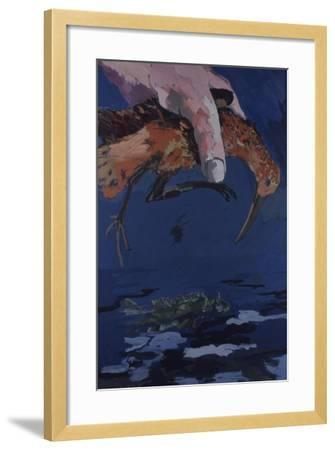 Big Hand in the Sky, 1978-Peter Wilson-Framed Giclee Print