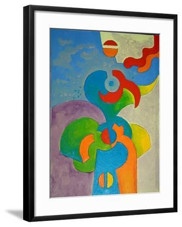 This Is Not a Parrot, 2009-Jan Groneberg-Framed Giclee Print