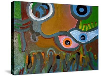 Eyes Do Not Believe What They See, 2009-Jan Groneberg-Stretched Canvas Print