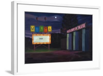 Sequel, 2002-David Arsenault-Framed Giclee Print