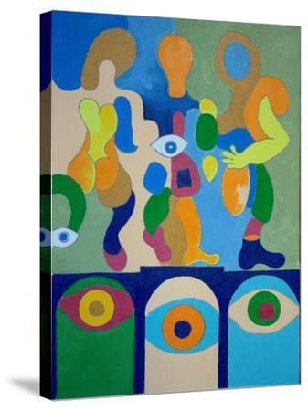Adieu, 2009-Jan Groneberg-Stretched Canvas Print