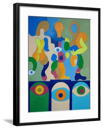 Adieu, 2009-Jan Groneberg-Framed Giclee Print