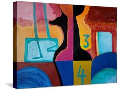 Anubis Brings Forth Basic Numbers, 2010-Jan Groneberg-Stretched Canvas Print