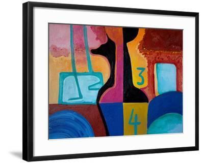 Anubis Brings Forth Basic Numbers, 2010-Jan Groneberg-Framed Giclee Print
