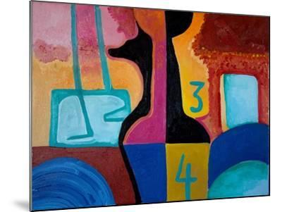 Anubis Brings Forth Basic Numbers, 2010-Jan Groneberg-Mounted Giclee Print