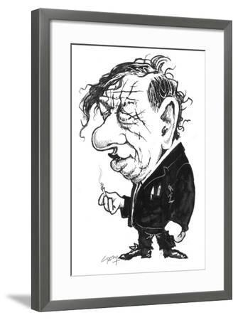 Auden-Gary Brown-Framed Giclee Print