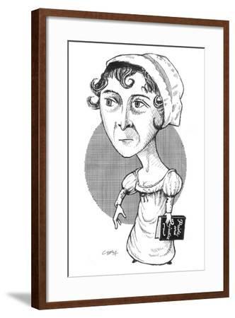 Austen-Gary Brown-Framed Giclee Print