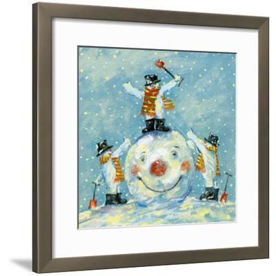 A Job Well Done-David Cooke-Framed Giclee Print