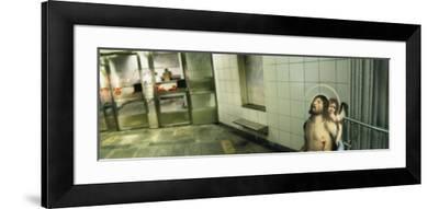 Underground Pieta, 2003-Trygve Skogrand-Framed Giclee Print