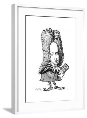 Defoe-Gary Brown-Framed Giclee Print