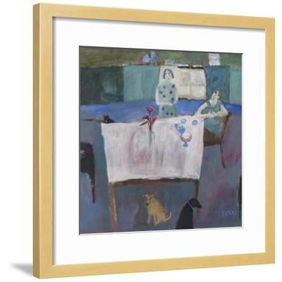Empty Nestlers, 2011-Susan Bower-Framed Giclee Print