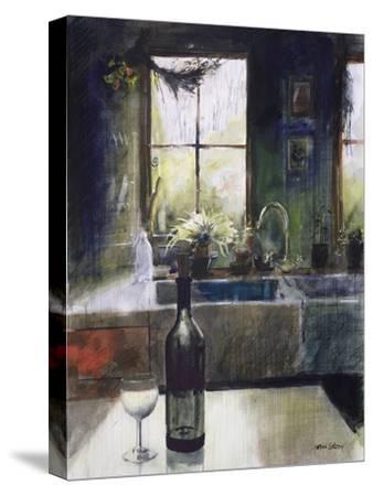 Kitchen Window-John Lidzey-Stretched Canvas Print